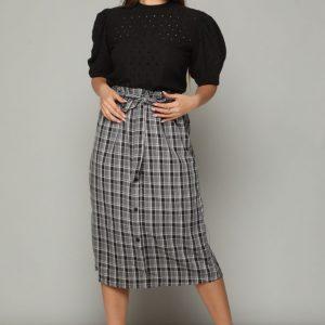 חצאית מירה שחורה