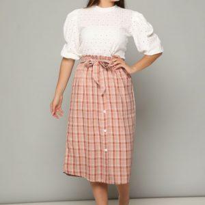 חצאית מירה אפרסק